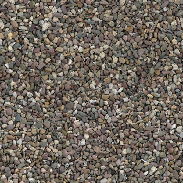 Final seamlessly tileable pebbles ground texture