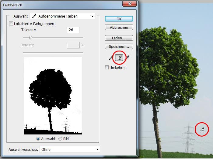 Photoshop Tutorial Cutout Tree