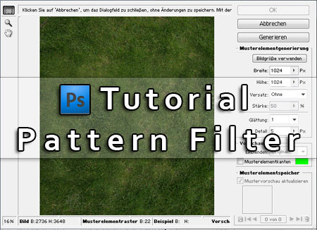 Photoshop Tutorial: How to create a tileable grass textures with ...